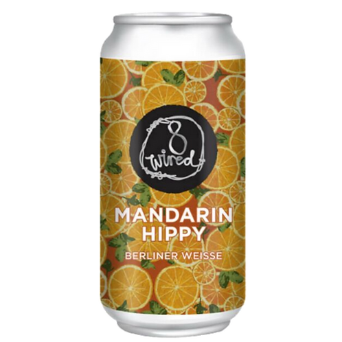 8 Wired Mandarin Hippy Berliner Weisse 4.5% Can 440mL