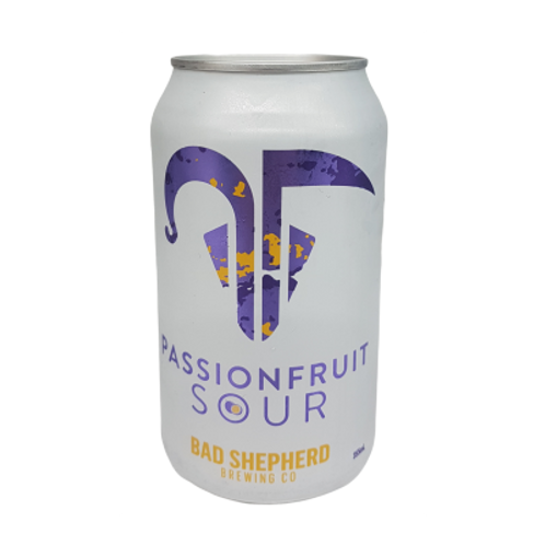 Bad Shepherd Passionfruit Sour 4% Can 375mL