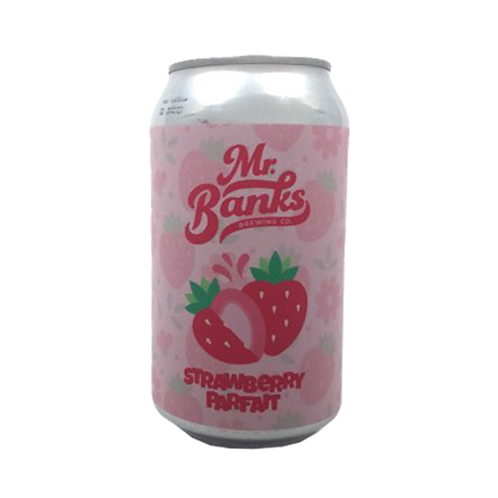 Mr Banks Strawberry Parfait 6.9% Can 355mL
