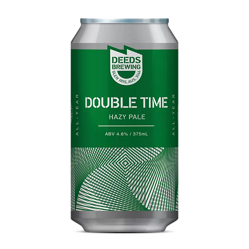 Deeds Brewing Double Time Hazy Pale 4.6% Can 375mL