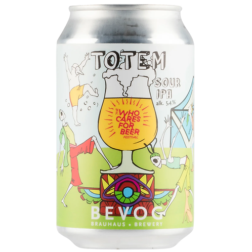 Brauhaus Bevog Totem Sour IPA 5.4% Can 330mL