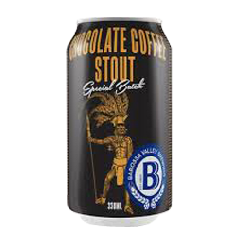 Barossa Valley Brewing Co Chocolate Coffee Stout 7% Can 330mL
