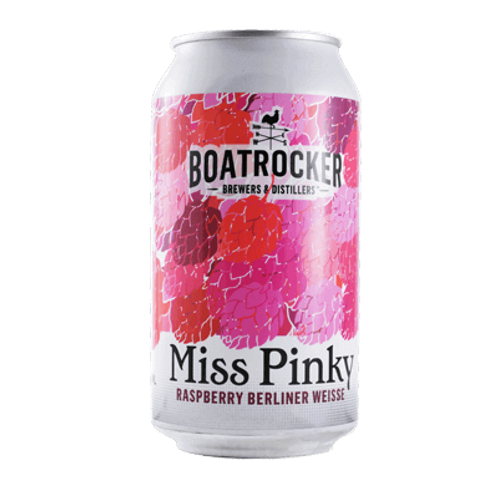 Boatrocker Miss Pinky Raspberry Berliner Weisse 3.4% Can 375mL