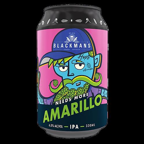 Blackman's Need's more Amarillo IPA 6.5% Can 330mL