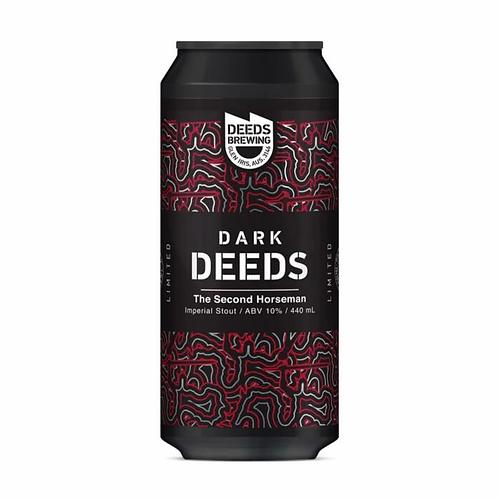 Deeds Brewing Dark Deeds - The Second Horseman Imperial Stout 10% Can 440mL