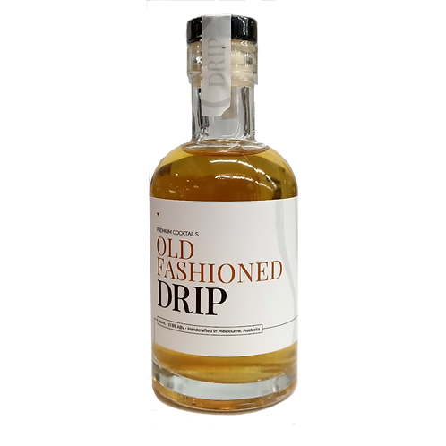 Drip Old Fashioned Cocktail Bourbon 100mL
