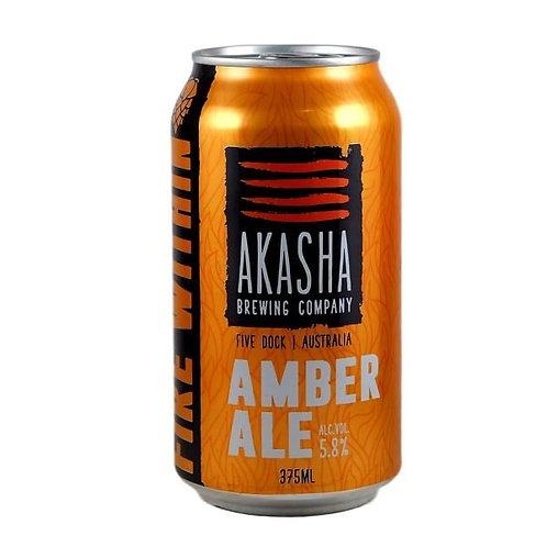 Akasha Brewing Amber Ale 5.8% Can 375mL