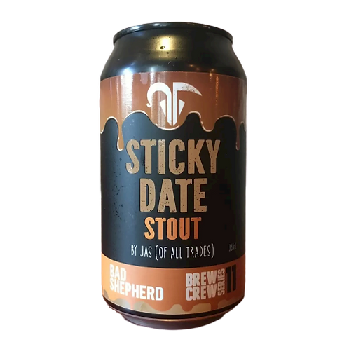 Bad Shepherd Sticky Date Stout 7.5% Can 355mL