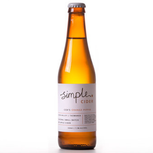 Simple Cider Cox's Orange Pippin 7.5% Btl 330mL