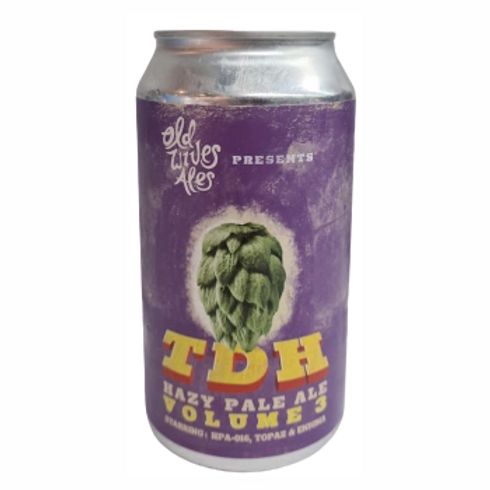 Old Wives Ales TDH#3 Hazy Pale Ale 5.8% Can 375mL