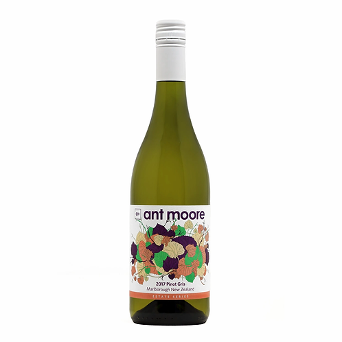 Ant Moore 2017 Marlborough Pinot Gris Btl 750mL
