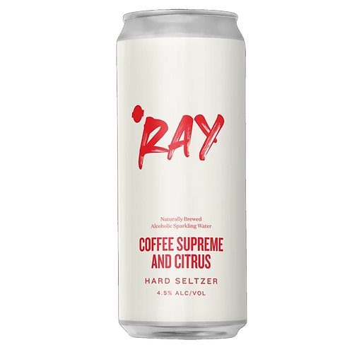 """Hop Nation """"RAY"""" Coffee & Citrus Seltzer 4% Can 375mL"""