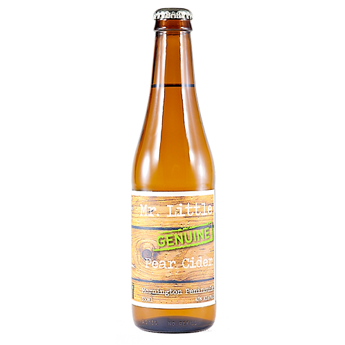 Mr Little Genuine Pear Cider 4.9% Btl 330mL