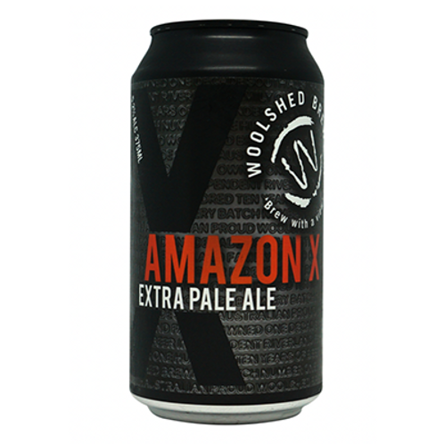Woolshed Brewery Amazon X - Extra Pale Ale 5.2% Can 375mL