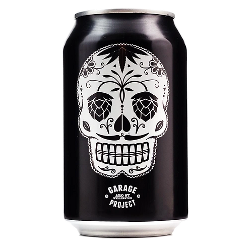 Garage Project Day of the Dead Strong Black Lager 6.7% Can 330mL