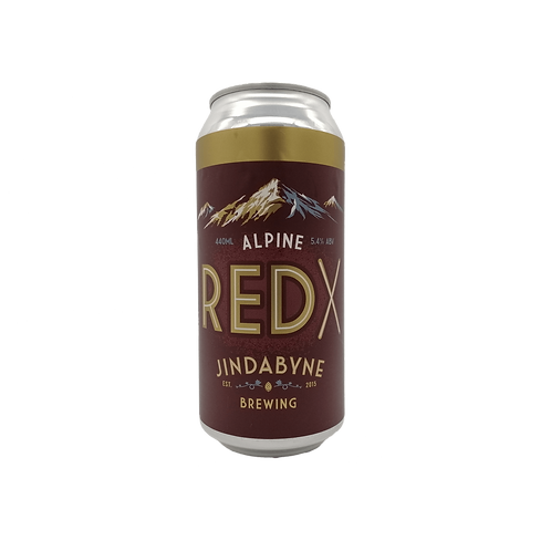Jindabyne Brewing Alpine Red X 5.4% Can 440mL