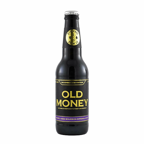 Stockade Old Money 2018 BA Bourbon Imperial Stout 12.5% Btl 330mL