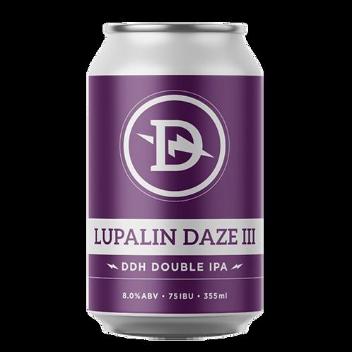 Dainton Brewery Lupalin Daze # 3 DDH Double IPA 8% Can 355mL