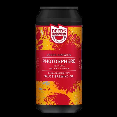 Deeds Brewing X Sauce Brewing Photosphere Hazy DIPA 8.5% Can 440mL