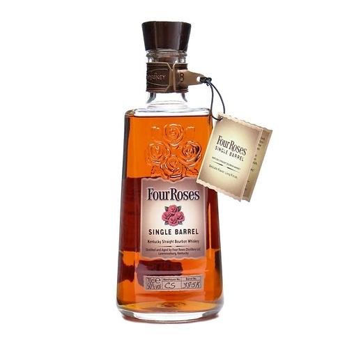 Four Roses Single Barrel Bourbon Whiskey 50% 700mL