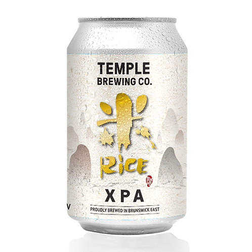 Temple Brewing Rice XPA 5% Can 355mL