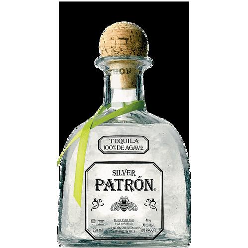 Patron 100% De Agave Silver Tequila Btl 700mL