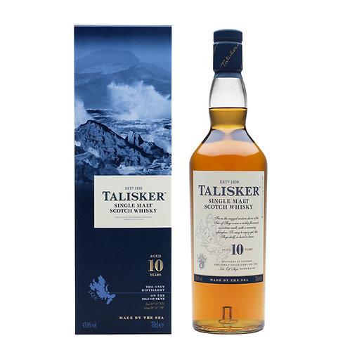 Talisker 10 Year Old Single Malt Scotch Whisky Btl 750mL