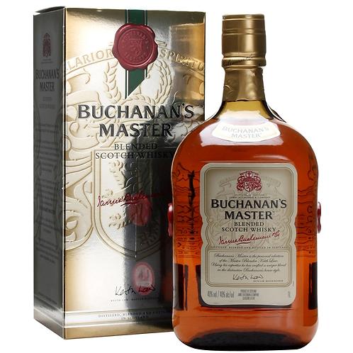 Buchanan's Master Blended Scotch Whisky 40% 1LT