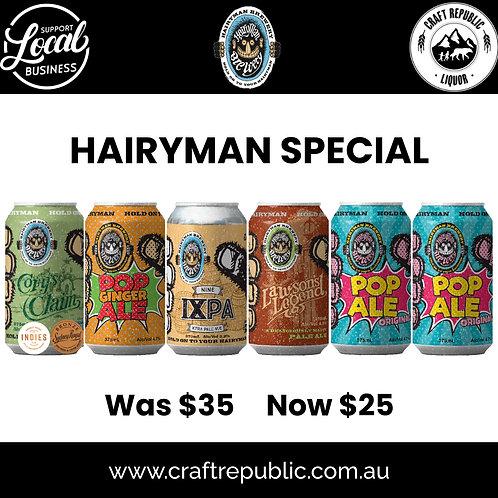 Hairyman Brewing Special 6x375mL