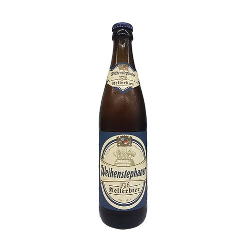 Weihenstephaner 1516 Kellerbier Unfiltered 5.6% Btl 500mL