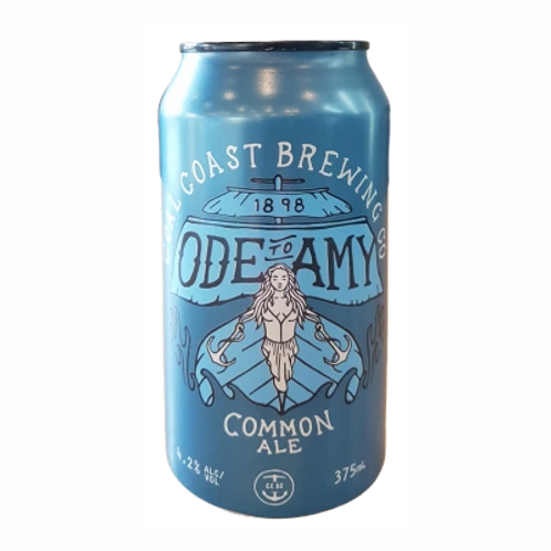 Coal Coast Brewing 'Ode to Amy' Common Ale 4.2% Can 375mL