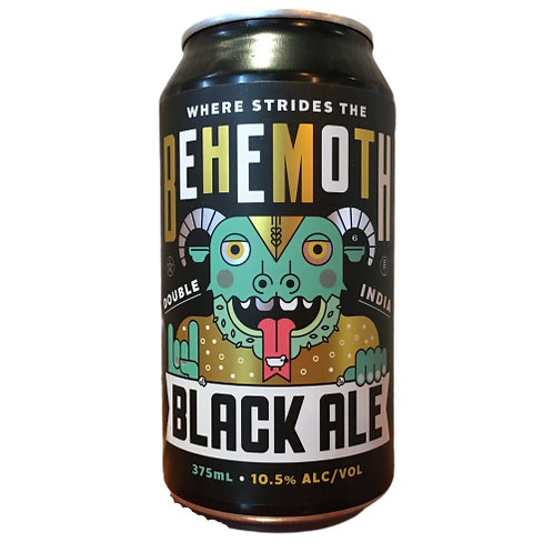 Kaiju Behemoth Black Ale 10.5% Can 375mL