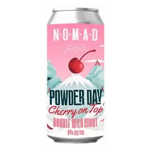 Nomad Brewing Co Powder Day Cherry on Top Double Milk Stout 8% Can 440mL