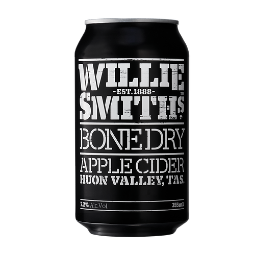 Willie Smiths Bone Dry Apple Cider7.2% Can 355mL
