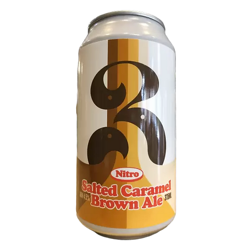 3 Ravens Nitro Salted Caramel Brown Ale 4.5% Can 375mL