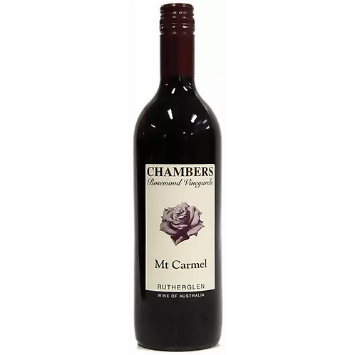 Chambers Rosewood Vineyard Mt Carmel Btl 750mL