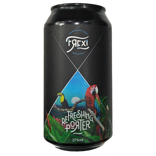 Frexi Refreshing Porter 5.1% Can 375mL