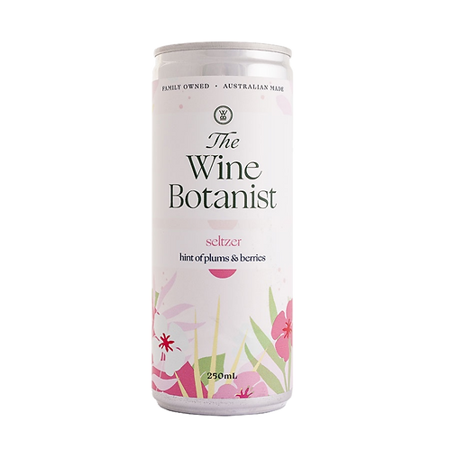 The Wine Botanist A Hint of Plum & Berries Seltzer Can 250mL
