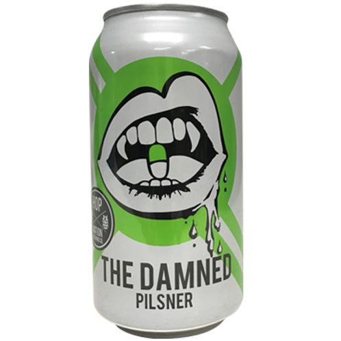 Hop Nation The Damned Pilsner 4.8% Can 375mL