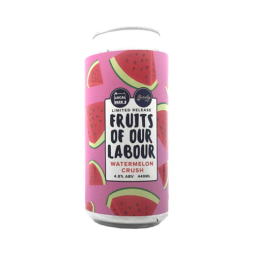 Local Brewing Co X Burnley Brewing Fruits of Our Labour 4.8% Can 440mLL