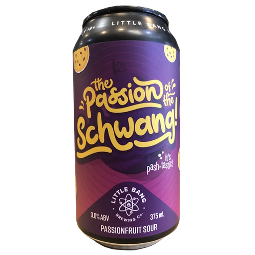 Little Bang The Passion of the Schwang ! 3% Can 375mL