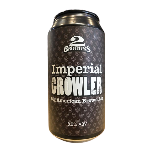 2 Brothers Imperial Growler 8% Can 375mL