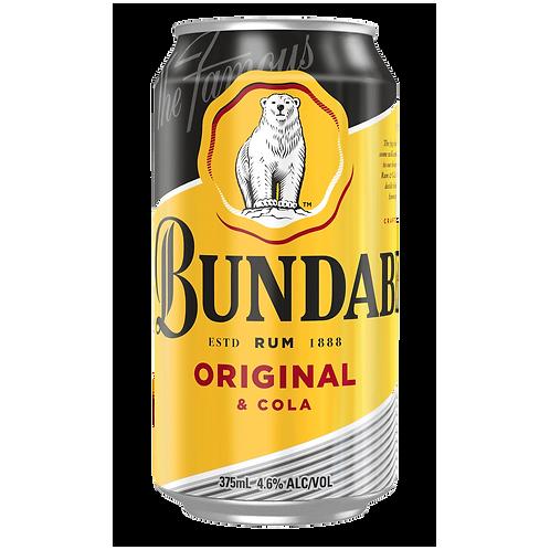 Bundaberg Original UP Rum & Cola 4.6% Can 375mL