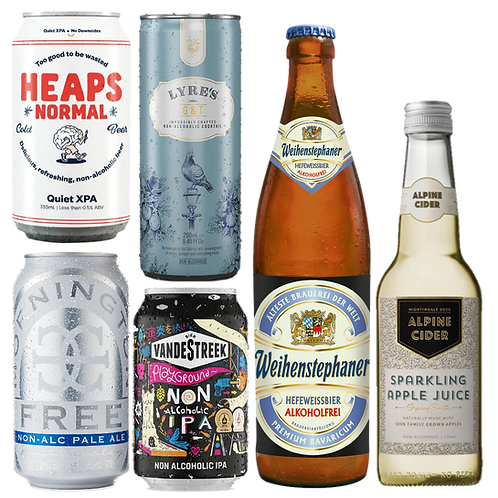 Dry July Alcohol Free Variety Pack