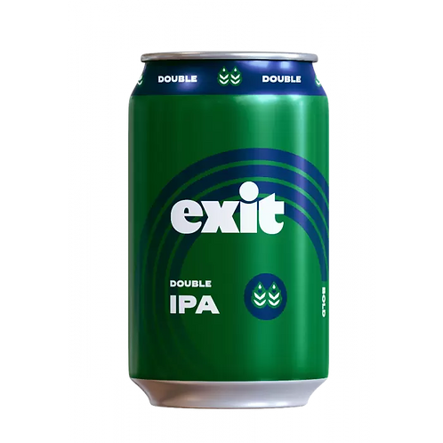 Exit Brewing NEW DIPA 9% Can 375mL