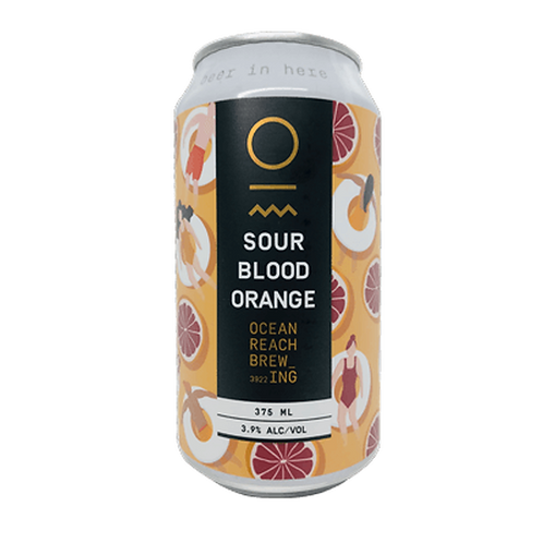 Ocean Reach Brewing Sour Blood Orange 3.9% Can 375mL