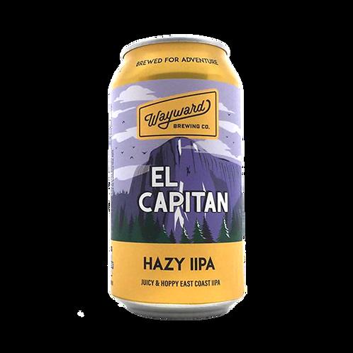 Wayward Brewing  El Capitan Hazy DIPA 7.6% Can 375mL