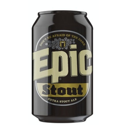 Epic Extra Stout Ale 4.8% Can 330mL