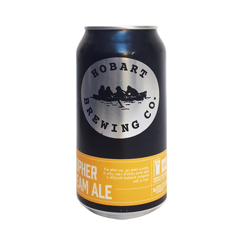 Hobart Brewing Co St Christopher Cream Ale 4.8% Can 375mL