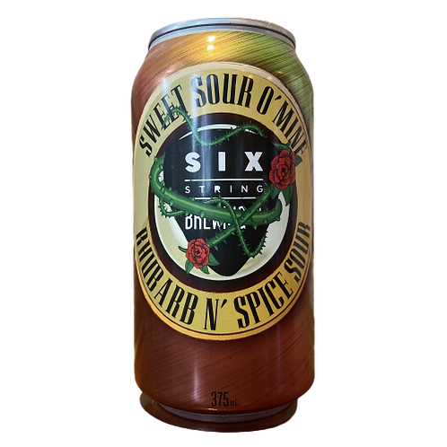 Six String Sweet Sour O' Mine 8% Can 375mL